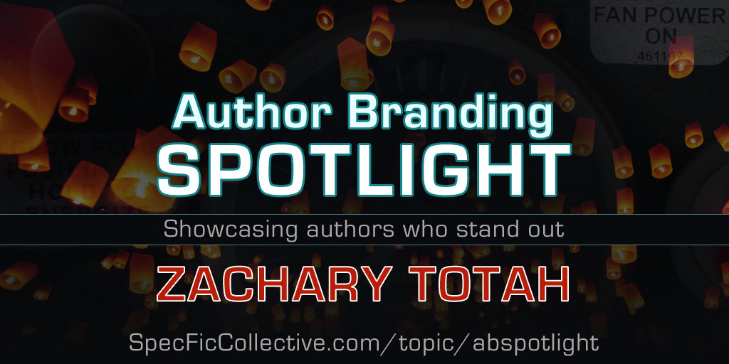 Author Branding Spotlight: Zachary Totah